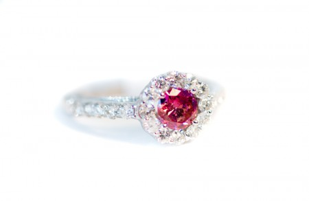 Pink Diamond Halo